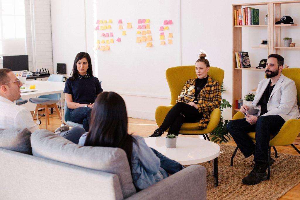 team meeting employee share scheme